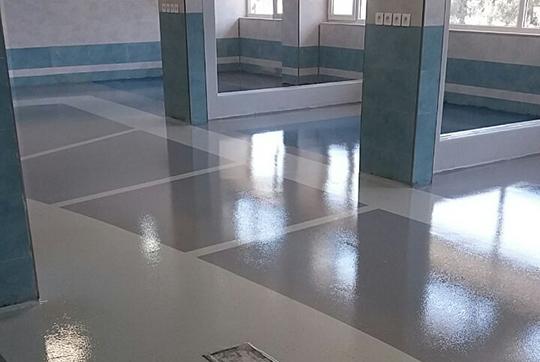 کفپوش بیمارستان شیراز