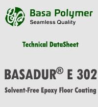 BASADUR® E 302  Solvent-Free Epoxy Floor Coating