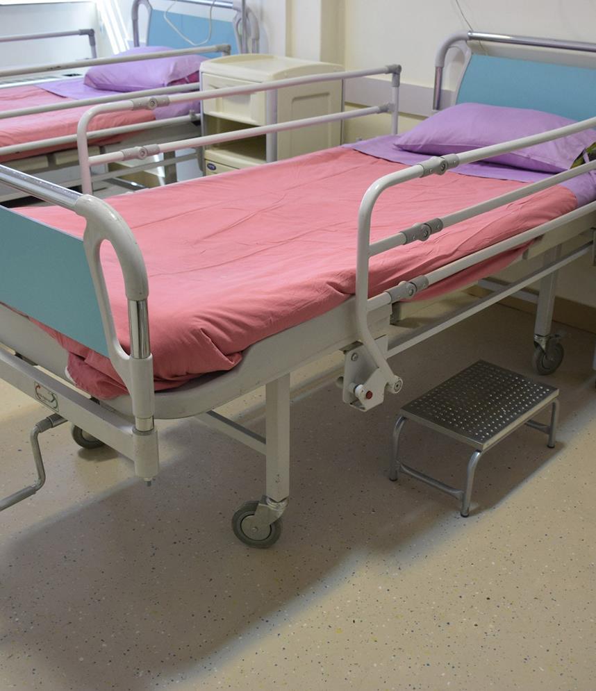 کفپوش بیمارستان شهید بهشتی شیراز